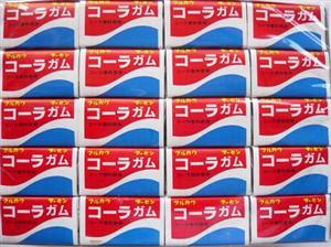 マルカワ コーラフーセンガム 60個(55+あたり5)駄菓子 ガム