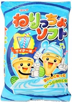マルタ ねりっちょソフト(サイダー味) 24個 駄菓子