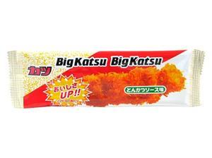 菓道 ビッグカツ とんかつソース味 30入 駄菓子珍味 BIGカツ
